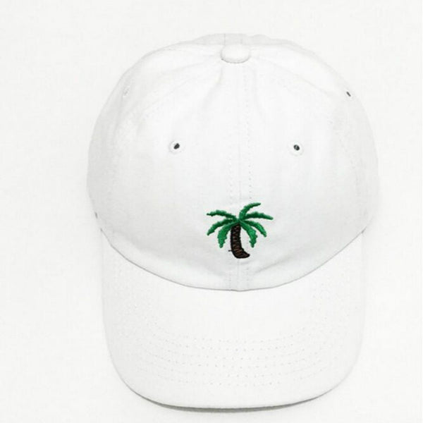 Palm Tree Paradise Embroidered Dad Hat Cap Unisex