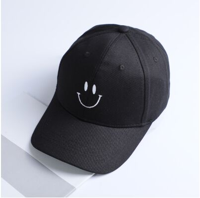 Smiley Embroidered Dad Hat Cap Unisex