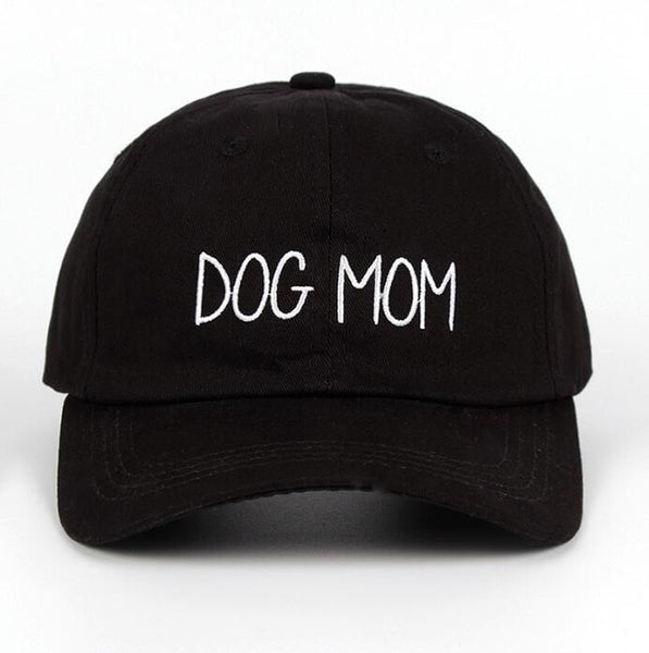Embroidered Dog Mom Dad Hat Cap Unisex