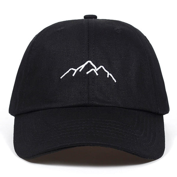 Mountain Range Dope Embroidered Dad Hat Cap Unisex