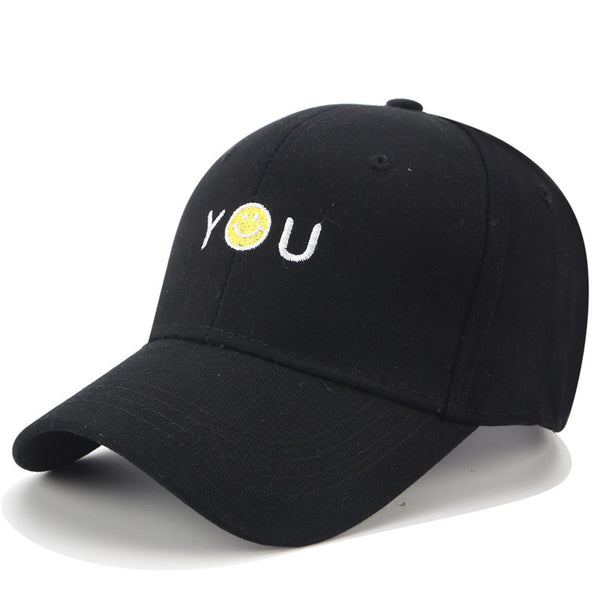You Smile Embroidered Dad Hat