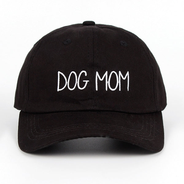 2018 new DOG MOM Embroidered Adjustable golf baseball Cap cotton unisex Hip-hop hats snapback cap
