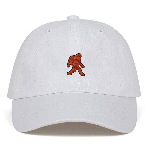 Embroidered Sasquatch Dad Hat Cap Unisex