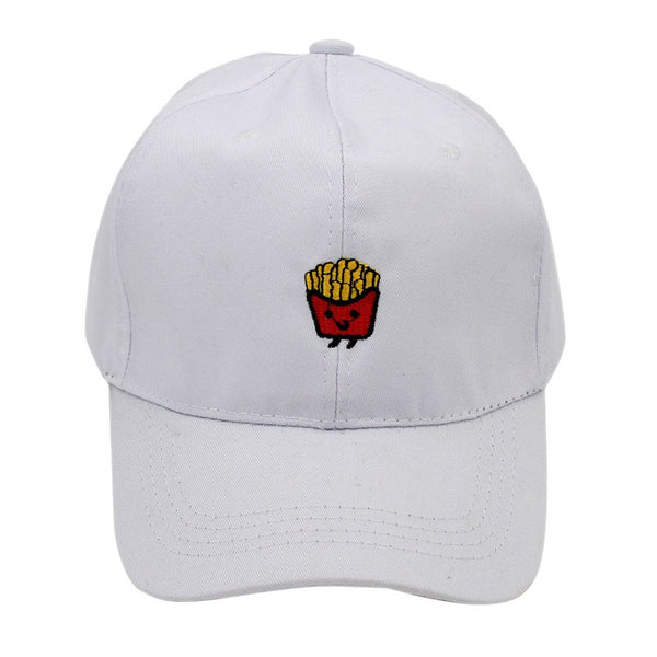 Embroidered French Fries Dad Hat