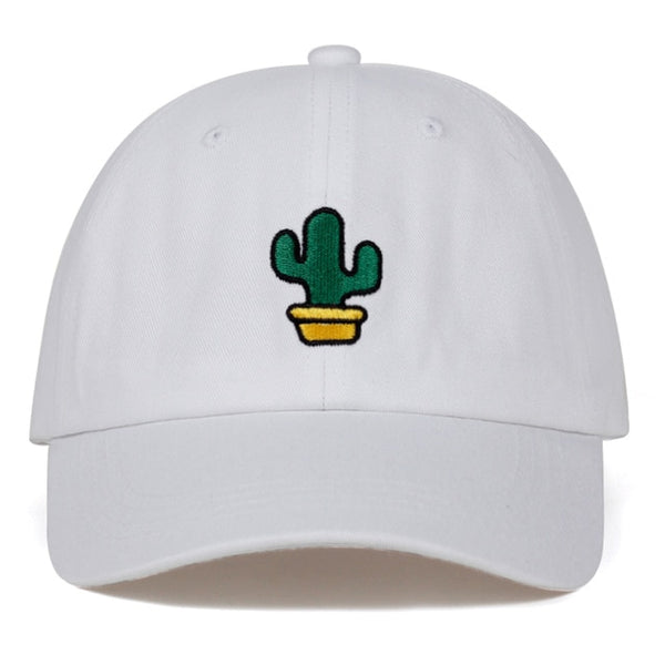 Prickly Cactus Embroidered Dad Hat Cap Unisex