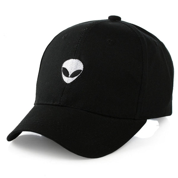 Embroidered Alien Dad Hat Cap Unisex