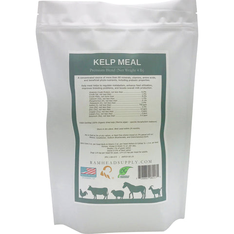Kelp Meal | Organic | Ramhead Supply | RSCO | Goats | Sheep | Livestock | Chickens | cattle | horses | pigs