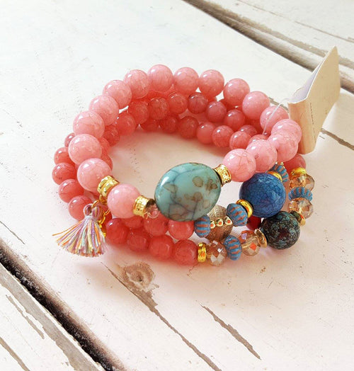 Sweetheart Light Pink Bracelet