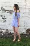 Sea-Side Getaway Blue Romper