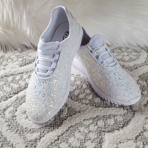 Touch of Glam White Sneakers