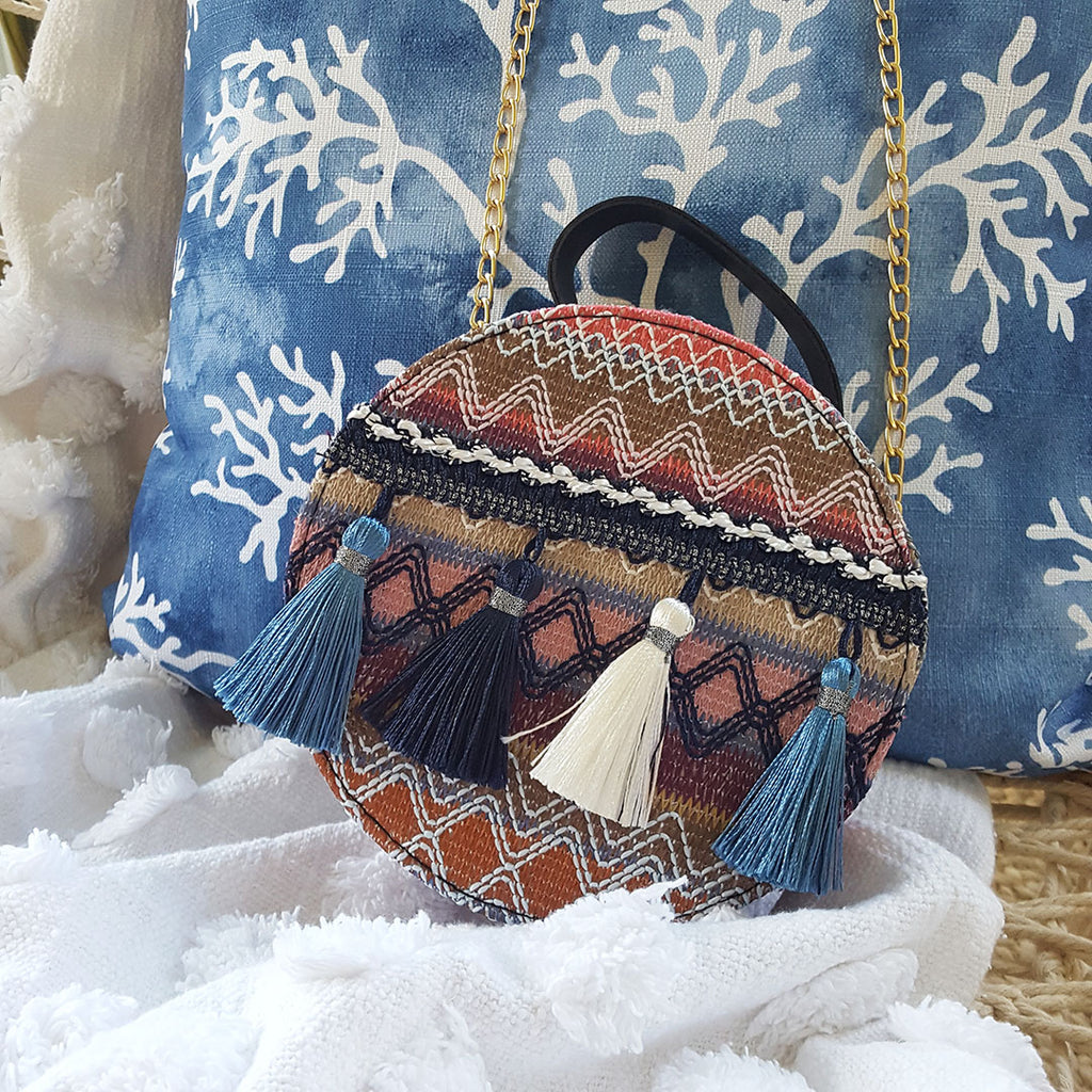 Take It In Tassel Handbag