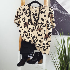 Finding My Way Leopard Top