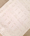 *Lace Anchor Original* Game Changer White Lace Scarf