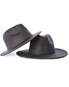 child toddler smoke grey felt hat