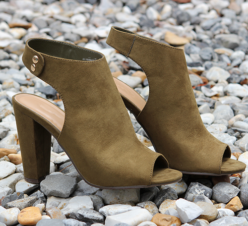 Better Days Olive Booties