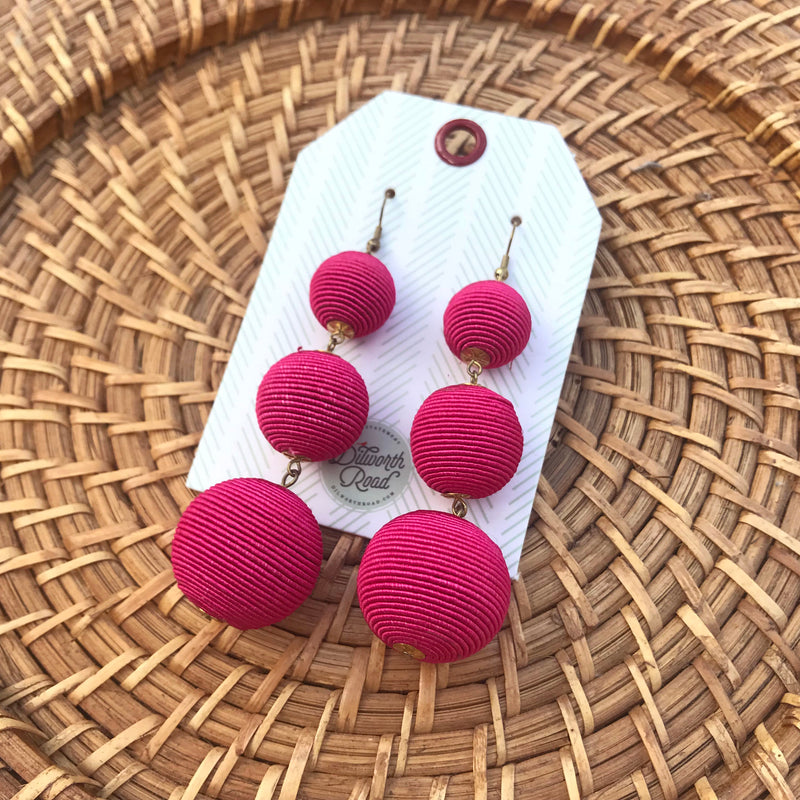 Simply Stunning Pink Earring