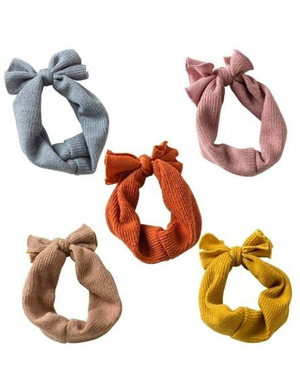 toddler girls tie multiple color headband