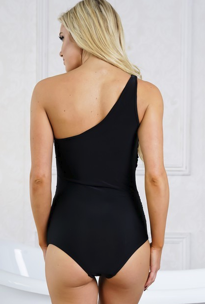 Such a Stunner Black Swimsuit