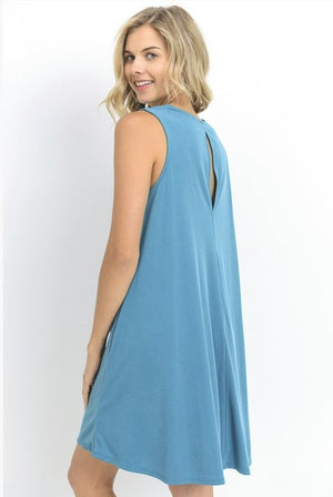 Life's a Breeze Teal Dress