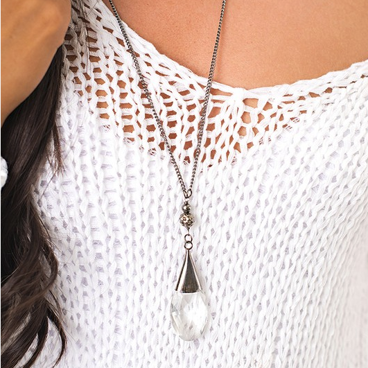 Simply Magical Silver Necklace
