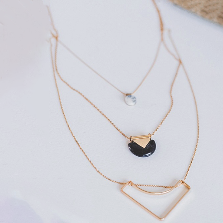 Love Letter Gold Necklace