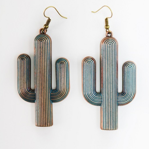 Touch Of Wonder Cacti Earrings