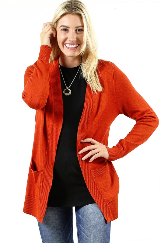 Got You Covered Copper Cardigan