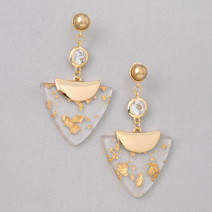 Simply Shiny Gold Earring