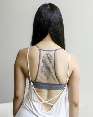 Simple Beginnings Tattoo Bralette