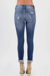 Right On Trend Leopard Jeans