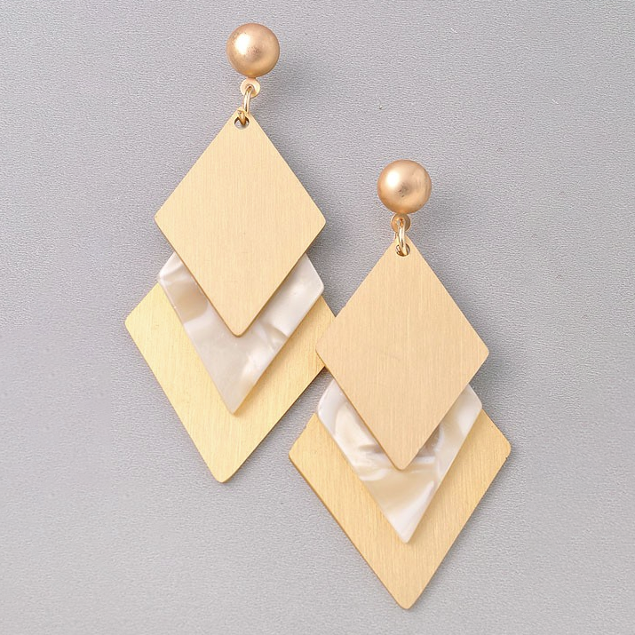 Show Me Some Love Ivory Earring