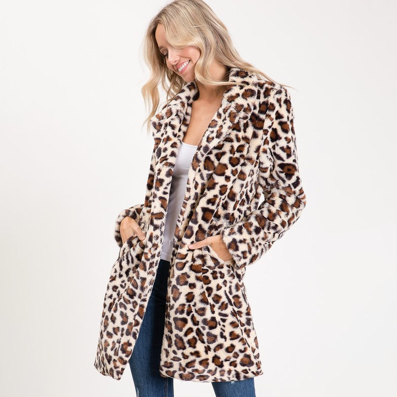Dream of You Leopard Coat