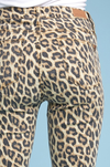 About That Life Leopard Denim Jeans