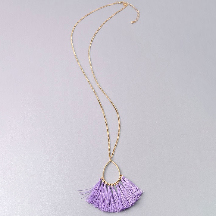Feeling Inspired Lilac Necklace
