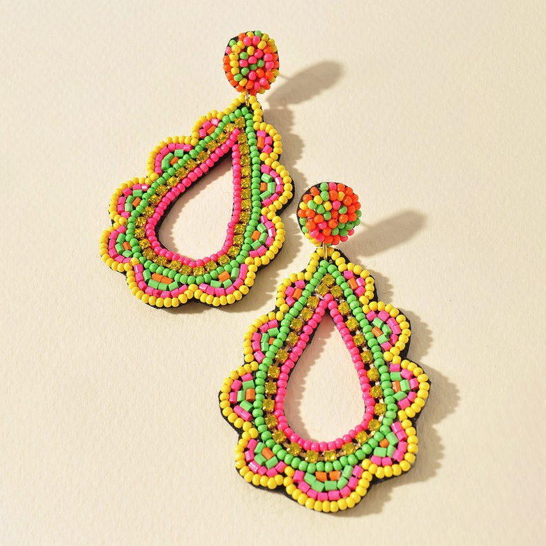 Catching Looks Paisley Earrings