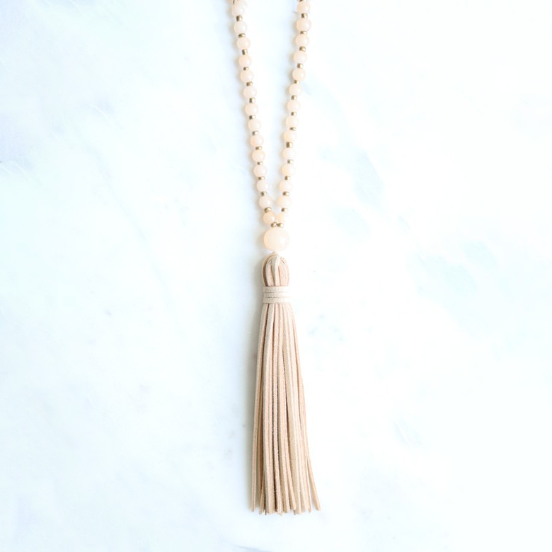 No Questions Asked Tassel Necklace