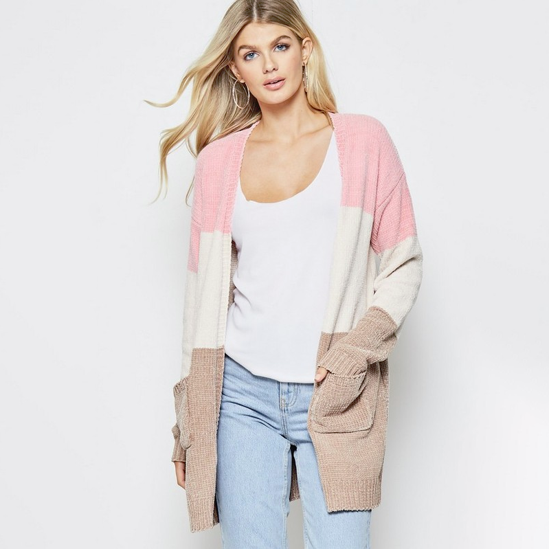 My Favorite Flavor Chenille Cardigan