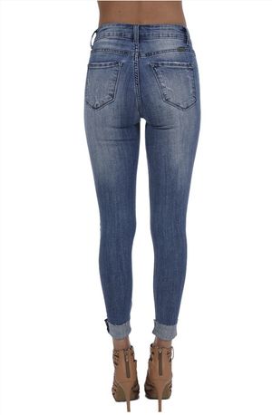 In The Spotlight Pearled Jeans