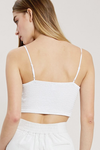 What I've Looked For White Bralette