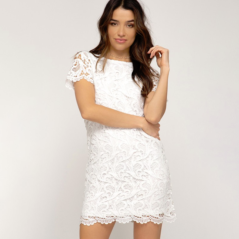 The Right Time Lace Dress