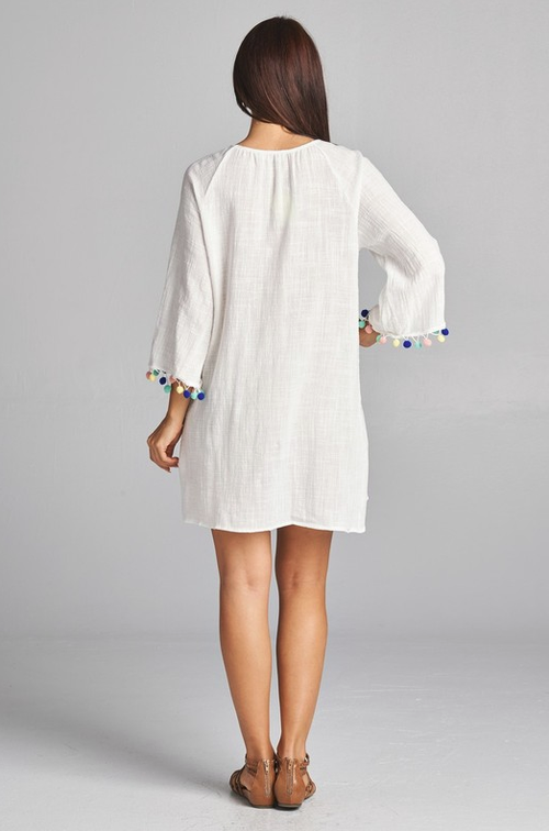 Seaside Escape White Dress