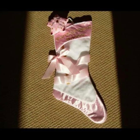 Ballerina Christmas Stocking