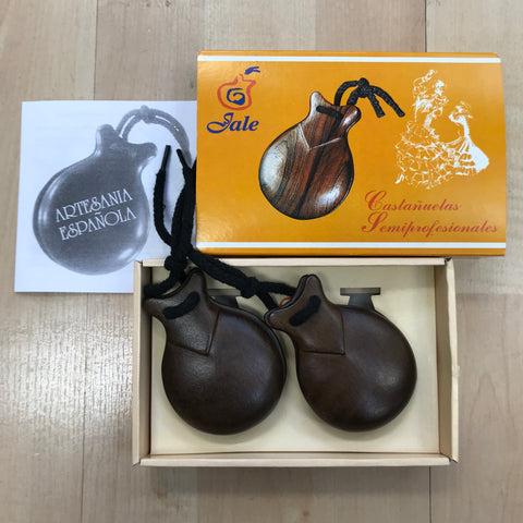 Flamenco castanets (wood)