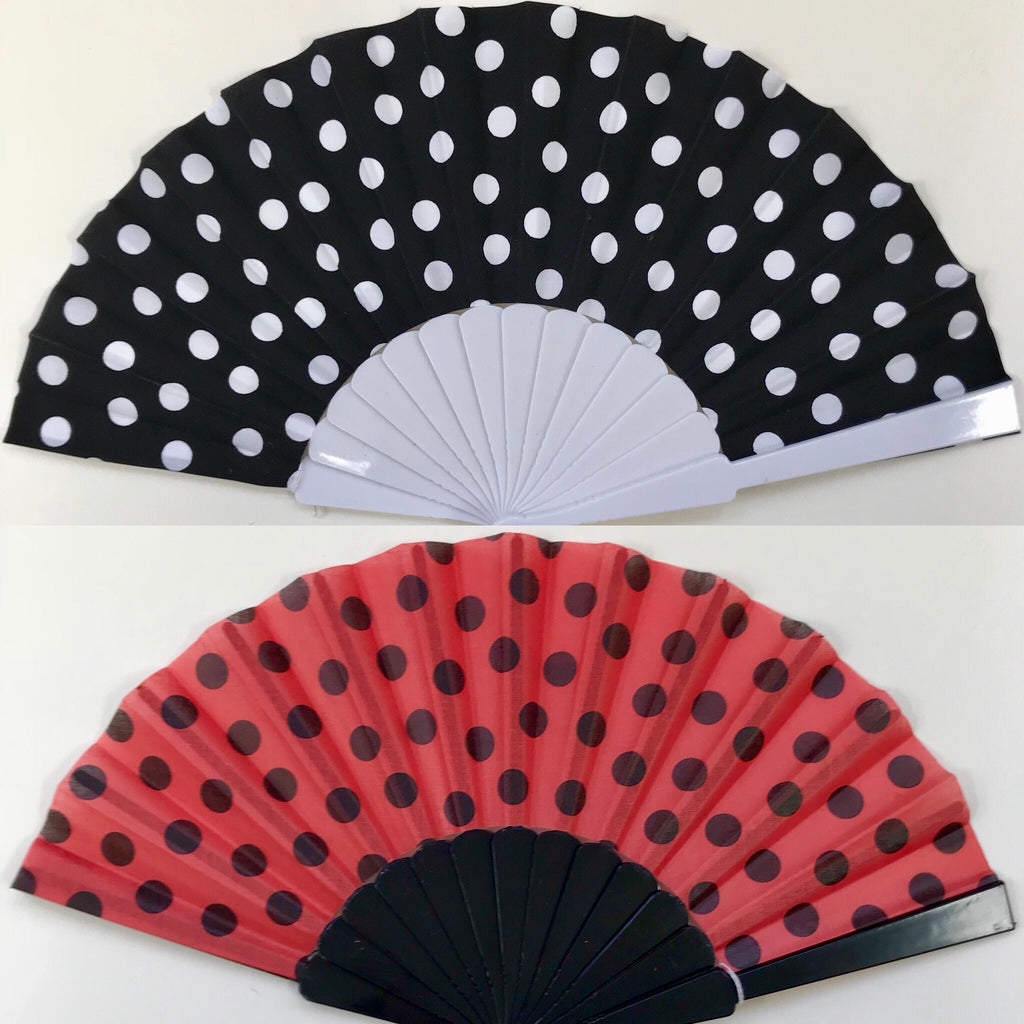Flamenco Fan (polka dot)