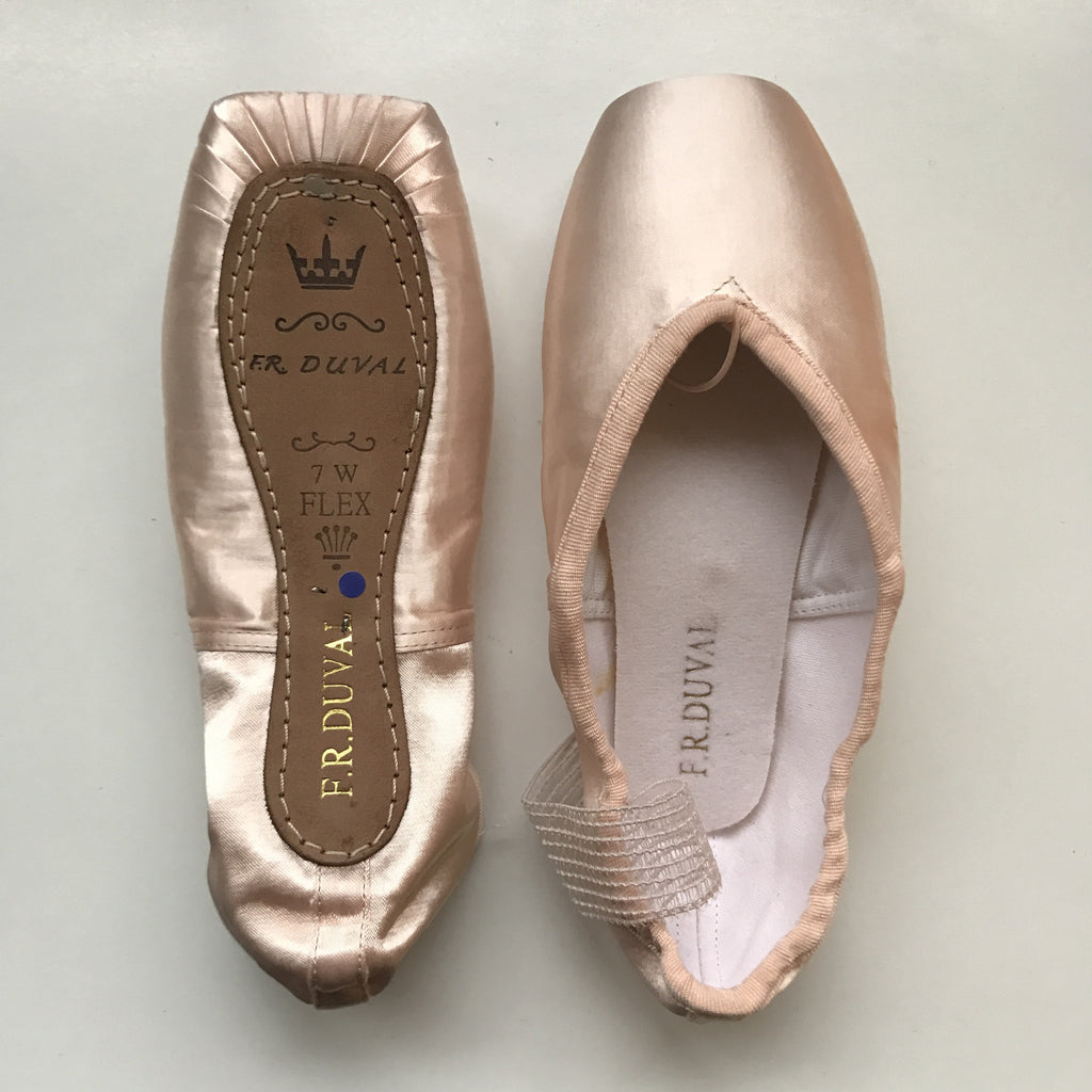 Sansha F.R. Duval pointe shoes