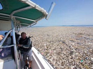 'Sea Of Plastic' In The Caribbean Stretches Miles.