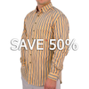 Montauk Stripe Button-Down Dress Shirt