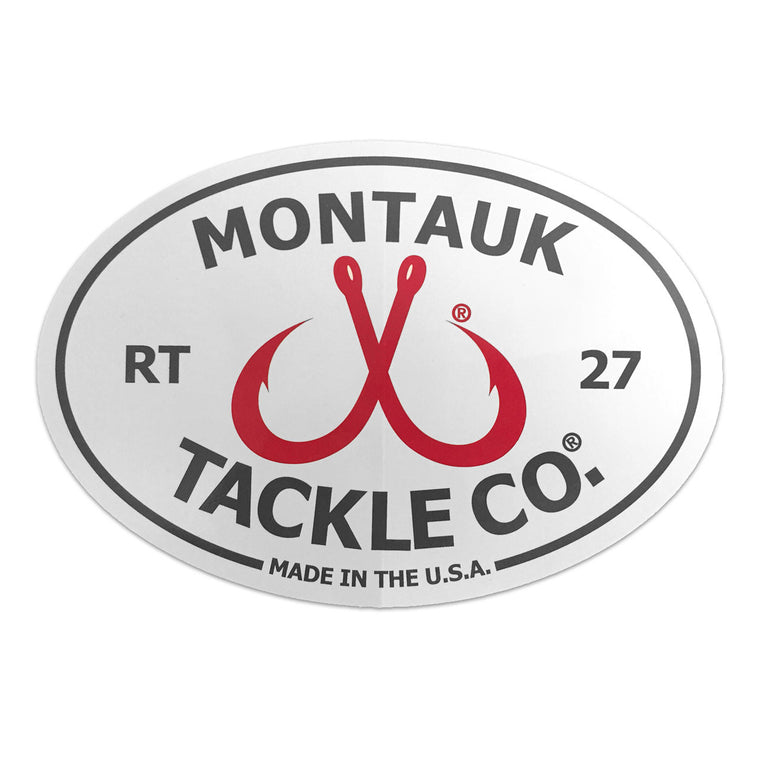 MTCO Double Hook Logo Sticker
