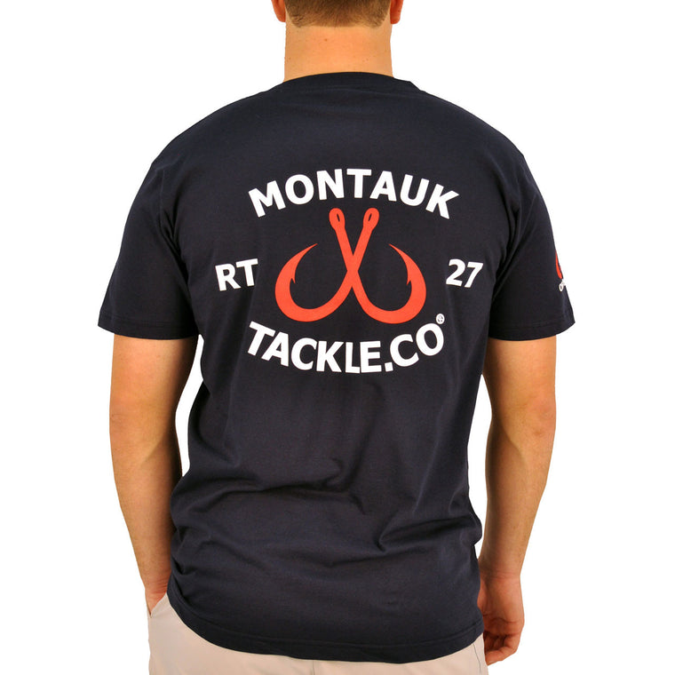 Montauk Tackle Classic Short Sleeve Tee Shirt