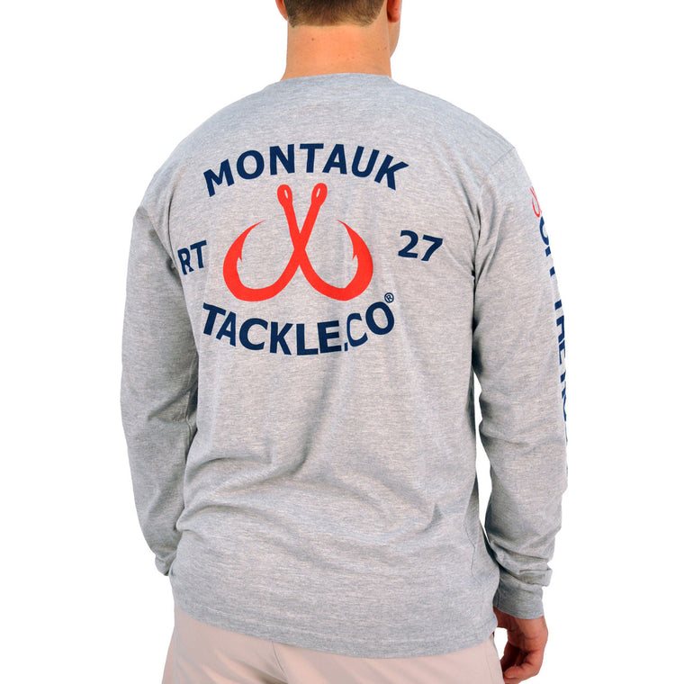 Montauk Tackle Classic Long Sleeve Tee Shirt